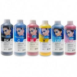6 botellas de 1 L de tinta de sublimación SubliNova Smart para impresoras
