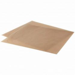 Papel protector siliconado Kraft 40 x 60 cm 20 hojas GlopPaper Protector