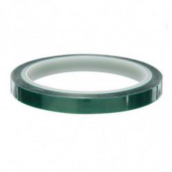 Cinta adhesiva térmica verde para sublimación 30 metros 5 mm