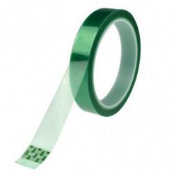 Cinta adhesiva térmica verde para sublimación 30 metros 10 mm