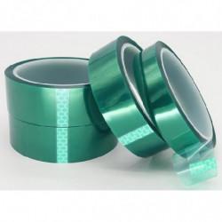 Cinta adhesiva térmica verde para sublimación 30 metros 25 mm