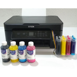 Impresora A4 Epson XP-3100 con CISS lleno e instalado de tinta Pigmentada InkTec, para oficina y hogar
