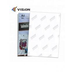 Papel de sublimación 100 hojas Din A4 secado rápido todo uso Vision