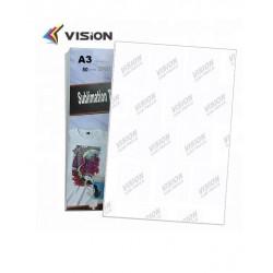 Papel de sublimación 50 hojas Din A3 secado rápido todo uso Vision