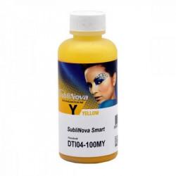 100 ml de tinta amarilla de sublimación SubliNova Smart para impresoras
