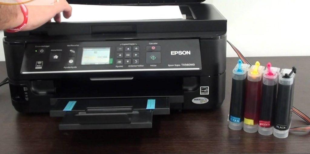 Impresora con Sistema CISS instalado