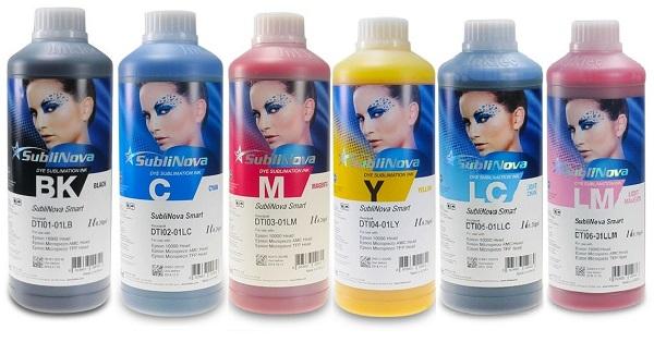 tinta de sublimación inktec 6 x litro